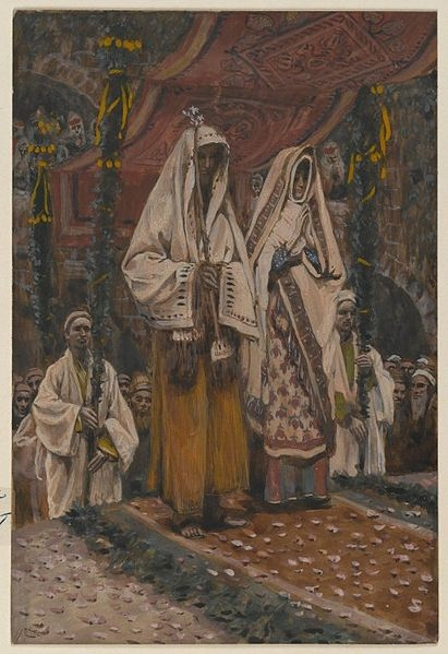 Tissot. Rise Of A Star 03. The Betrothal of the Holy Virgin and Saint Joseph. James Tissot.