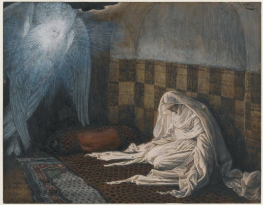 Tissot. Rise Of A Star 04. The Annunciation. James Tissot.