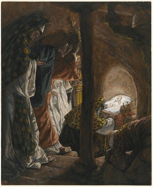 Tissot. Rise Of A Star 08. The Adoration of the Magi. James Tissot.