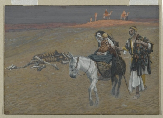 Tissot. Rise Of A Star 10. The Flight into Egypt. James Tissot.