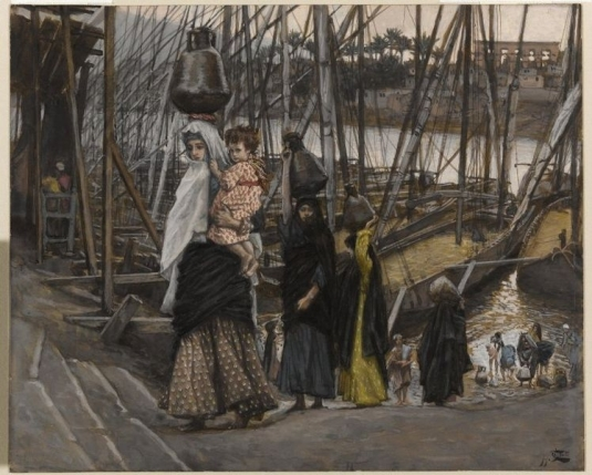 Tissot. Rise Of A Star 11. The Sojourn in Egypt. James Tissot.