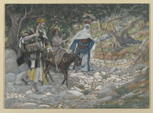 Tissot. Rise Of A Star 12. The Return from Egypt. James Tissot.