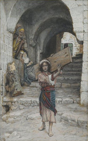 Tissot. Rise Of A Star 14. The Youth of Jesus. James Tissot.
