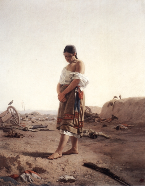 Owen Send Off 12 What is left of a war. Juan Manuel Blanes 1879