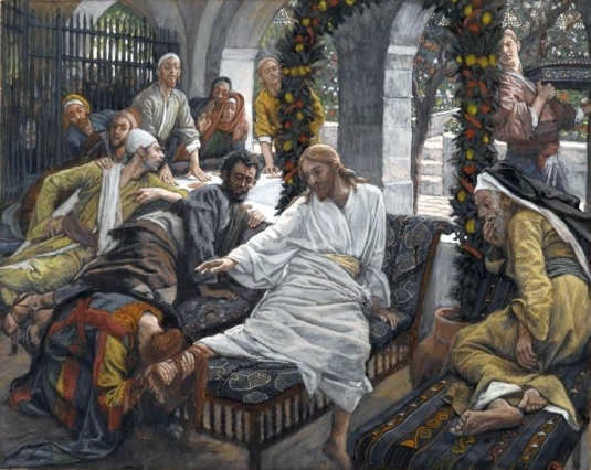 Tissot. The Healing Artist 08. The Ointment of the Magdalene